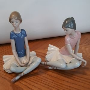 Pair of lladro. Beth and Shelly